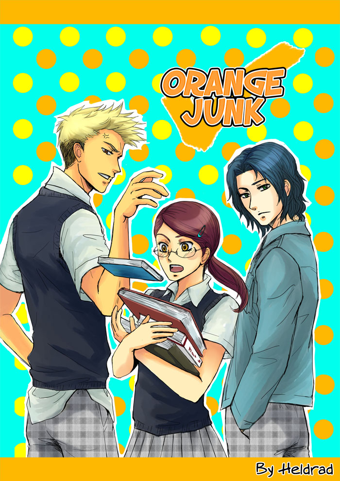Orange Junkcoverm